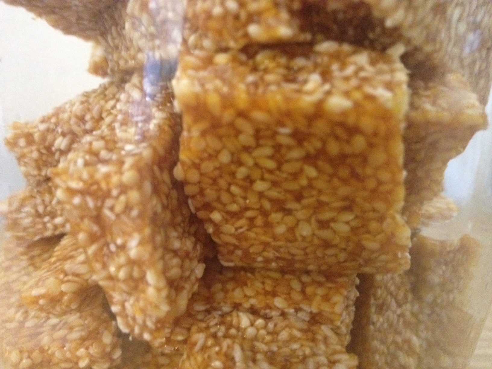 sesame brittle persian honey sesame brittle well i am proud to say ...